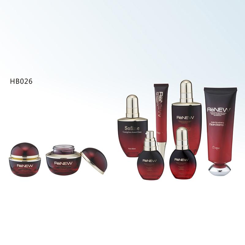 玻璃瓶膏霜/乳液系列 hb026