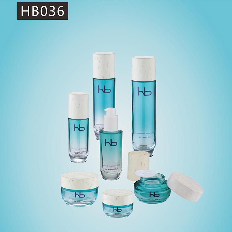 玻璃瓶膏霜/乳液系列 hb036